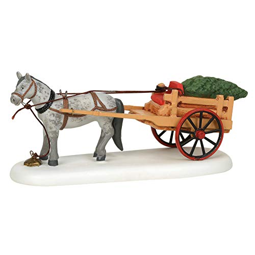 Department 56 New England Village Christmas Delivery Figurine, 2.8 Inch, Multicolor