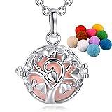 Pendentif bola mexicaine Eudora - Pendentif Arbre d'amour avec collier - Chaîne pour la maternité - Pendentif cage