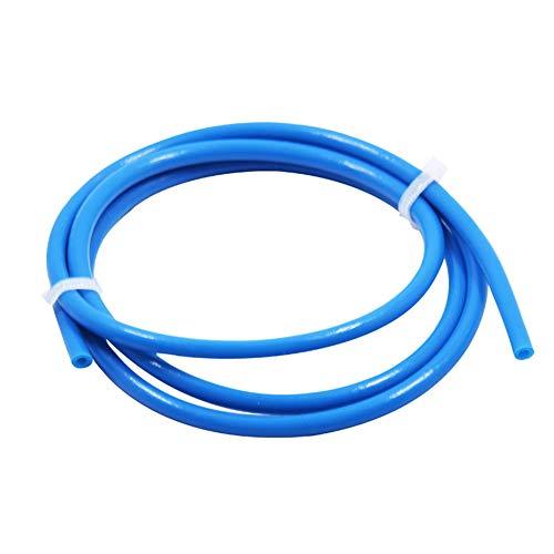 3D Printer Parts Accessories,Sar546 1m 3D Printer Remote Nozzle Teflon PTFE Tube Feeding Pipe for 1.75mm Filament - Blue