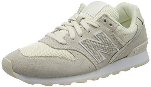 New Balance Wr996-lcb-d, Sneakers Basses Femme, Beige (Beige/Weiß Beige/Weiß), 36 EU