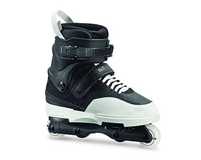 Rollerblade NJ Team Unisex Adult Street Inline Skate, Black and White, High Performance Inline Skates