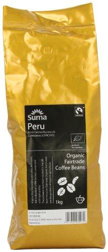 Suma Fairtrade Organic Peru Cepicafe Coffee Beans 1 kg