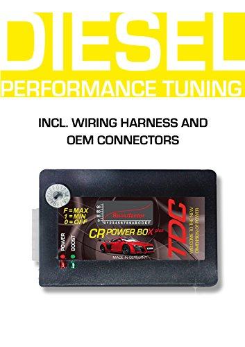 Plug & Drive Diesel Tuningchip CRD2 PowerBox for Isuzu D-max 2.5 85 KW / 115 PS / 280 NM