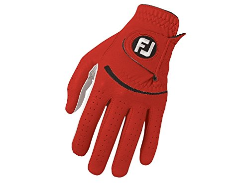FootJoy SPECTRUM Herren Golfhandschuh LH - für Rechtshänder - Rot (ML)