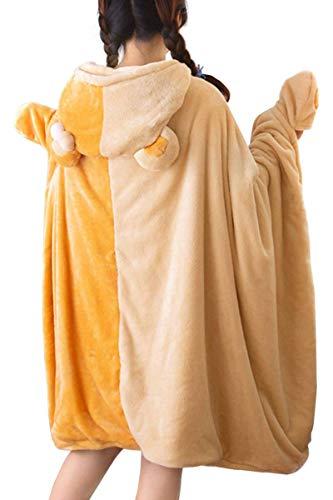 着る毛布 ガウン ブランケット 袖付き毛布 着るブランケット 洗える とろとろ ふわふわ 防寒 軽量ゆったり設計 あったか もこもこ サイズ:200x85cm