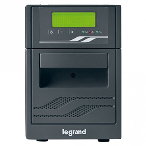 Legrand, USV-Anlage Niky S mit 3000 VA/1800 W - 6x IEC-Steckdosen - 4x Batterie 12V/9Ah, AVR, LCD Display , 310008