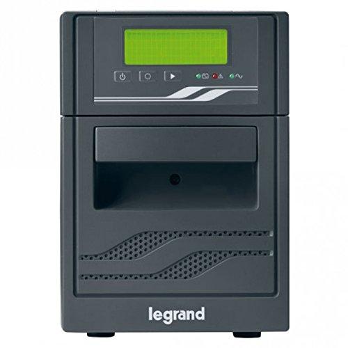 Legrand, USV-Anlage Niky S mit 1000 VA/600 W - 6x IEC-Steckdosen - 2x Batterie 12V/7Ah, AVR, LCD Display , 310006