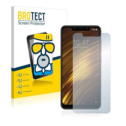 brotect Pellicola Vetro Opaca Compatibile con Xiaomi Pocophone F1 Protezione Schermo Anti-Riflesso Durezza 9H, AirGlass