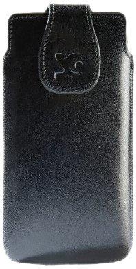 Suncase  - Custodia in pelle per Sony Xperia ion