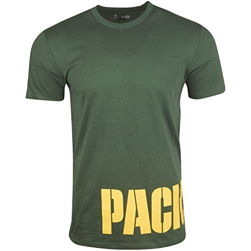 New Era NFL Shirt - WRAP Green Bay Packers grün - XL