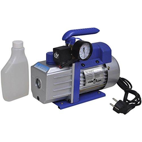 vidaXL Einstufige Vakuumpumpe mit Manometer 71 L / Min