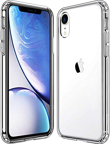 Mkeke Compatible with iPhone Xr Case,Clear Anti-Scratch Shock Absorption Cases for 6.1 Inch