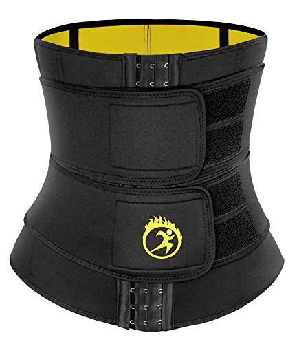 SEXYWG Waist Trainer Sauna Trimmer Sweat Belt Neoprene Women Slimming Body...