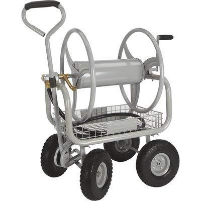 Strongway Garden Hose Reel Cart - Holds 5/8in. x 400ft.L Hose