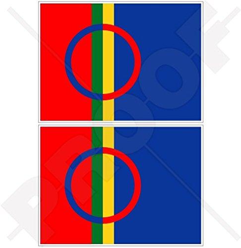 SAMI MENSELIJKE Vlag Saami Lapps, SAPMI Lapland 4