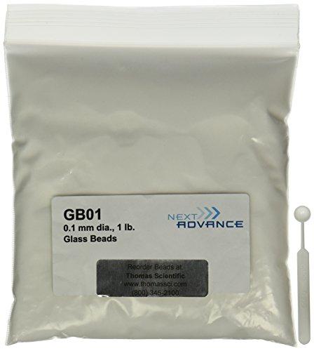 Volgende Advance GB01 Borosilicaatglas kralen voor homogenisator Bullet Mixer, 0,1 mm diameter