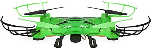 World Tech Toys Striker-X Glow-In-The-Dark 2.4Ghz 4.5Ch RC HD Camera Drone
