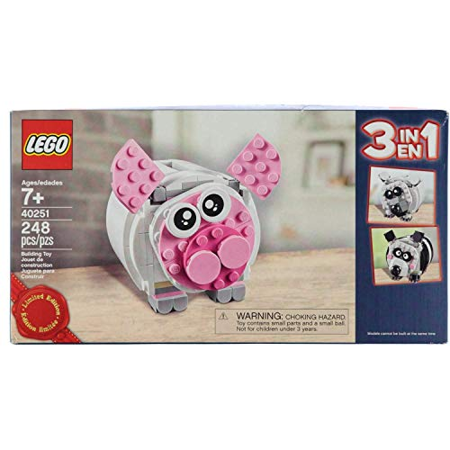 LEGO Exklusiv - 40251 Mini-Sparschwein 3 in 1 Limited Edition