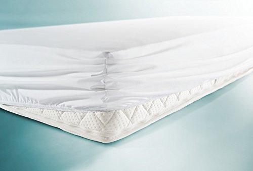 Preisvergleich Produktbild Spannbezug BNP Bed Care safety mit Nässeschutz 90 x 200 x 20 cm