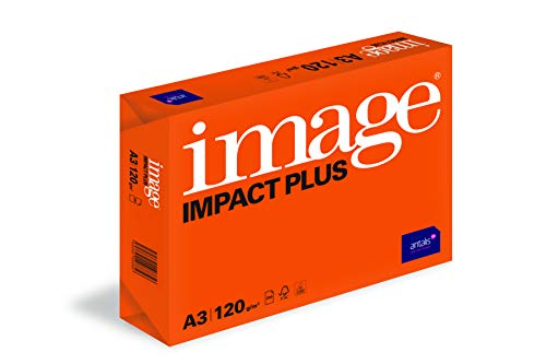 Image Impact Plus - Carta di alta qualità, formato A3, 120 g/mq, risma da 250 fogli