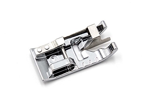 vhbw Accesorio Repuesto máquina de Coser, prensatela Borde con guía Central para máquina de Coser Elna Explore 220, 240, 320, 340