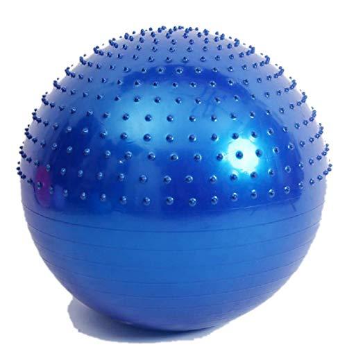 FGGTMO Gymnastikball, 65cm Yoga-Kugel Gymnastikball for Office Home Gym Anti-Burst Kinder Sensorische Integration Training Ball, für Yoga Schwangerschaft Geburt Balance Pilates Fi