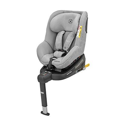 Maxi-Cosi Beryl Kindersitz, geeignet für jedes Auto dank Installation mit Gurt oder ISOFIX, vor- und rückwärts Fahren, Gr. 0+/1/2 Autositz, nutzbar ab Geburt bis ca. 7 Jahre (0-25 kg), nomad black