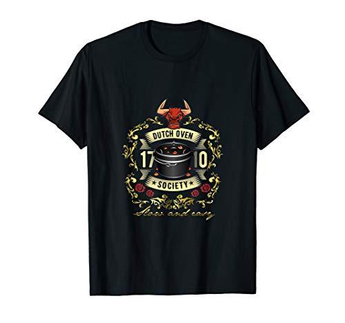 Dutch Oven Society Grill Design für Fans des Dutch Oven T-Shirt
