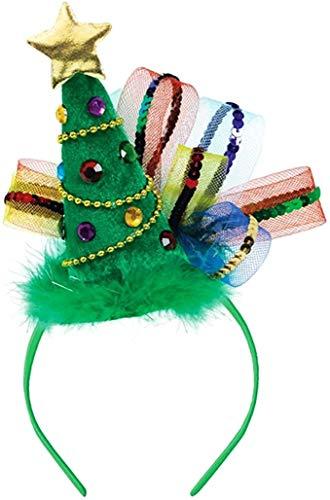Christmas Tree Fashion Headband, 8' x 7.9'