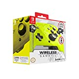 PDP Gaming - Mando Faceoff Wireless Deluxe Con Licencia Oficial Nintendo Switch (Camuflaje Amarillo) (Nintendo Switch)