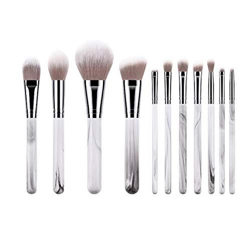 Gespout 11 pcs Set de Pinceau de Maquillage Multifonctionnel Ensemble de Pinceaux de Maquillage Professional Makeup Brushes Sets pour le Visage et le yeux