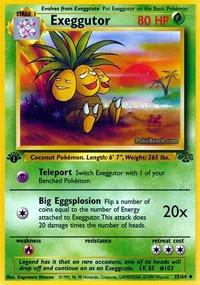 Pokemon - Exeggutor (35) - Jungle