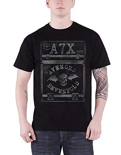 DSFG Avenged Sevenfold T Shirt Flightcase Band Logo
