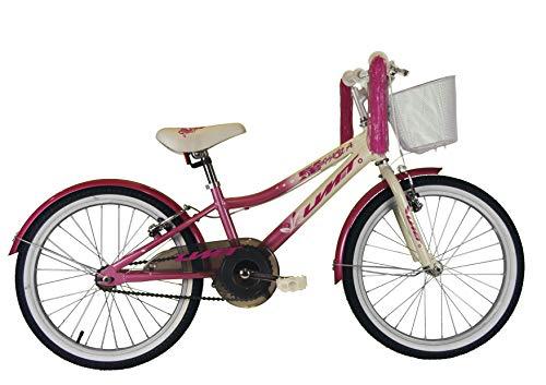 "Umit 20"" Diana Bicicleta Pulgadas, Unisex niños, Rosa/Blanca"