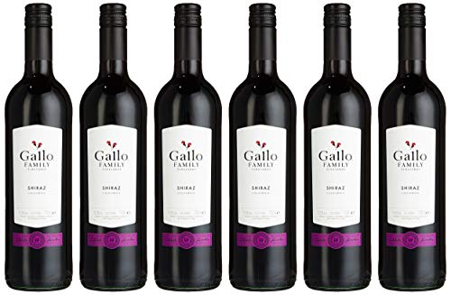 Gallo Family Vineyards Shiraz Ernest und Julio Trocken (6 x 0.75 l)
