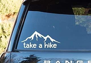 Take a Hike Nature Outdoor - Vinyl Decal - Car Phone Helmet Bumper Sticker Decal