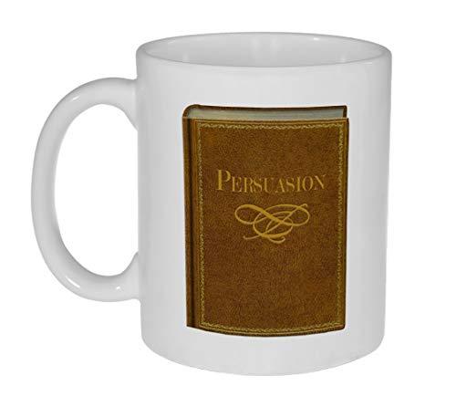 Jane Austen Novels Mug - Persuasion - Taza para los Amantes de la Novela de Jane Austen