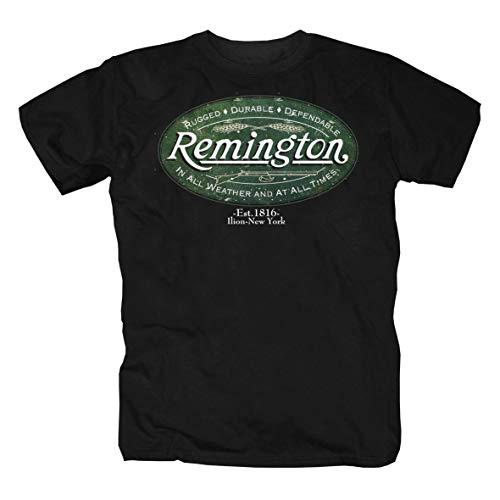 Remington Arma Revolver Colt America USA Caccia Camicia Maglietta Shirt T-Shirt Polo L