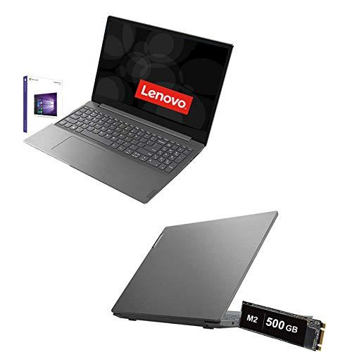 Ordenador portátil Lenovo AMD A4-3020E de hasta 2,6 GHz, pantalla de 15,6 pulgadas HD, RAM 8 GB DDR4, SD 500 GB M2, HDMI, USB 3.0, WiFi, Bluetooth, Webcam, Windows 10 Pro, Open Office, Antivirus