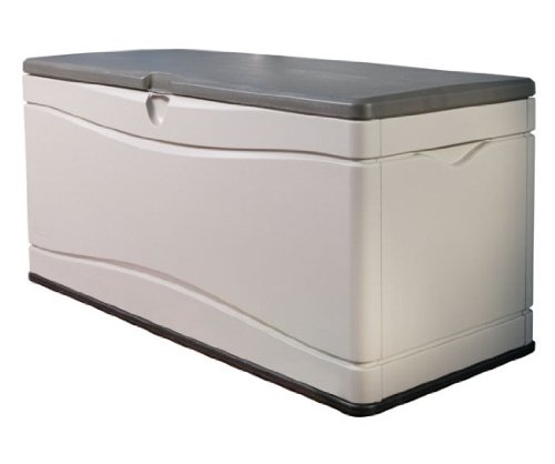 Lifetime 60012 Extra Large Deck Box, 130 Gallon, Desert Sand/Brown