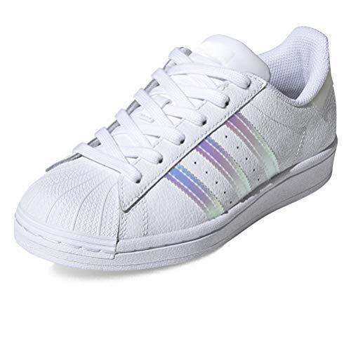 Adidas - Zapatillas Superstar J, código FW0813 Blanco Size: 38 EU