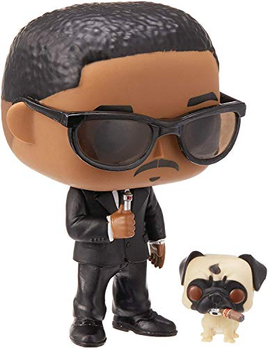Funko- Pop & Buddy Vinilo Men In Black Agent J & Frank Figura Coleccionable, Multicolor, Talla única (37664)