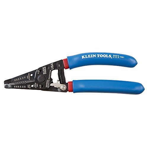 Klein Tools 11057 Wire Stripper and Cutter for 20-30 AWG Solid Wire and 22-32 AWG Stranded Wire