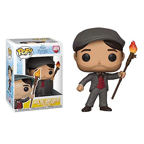 Funko Pop Movies : Mary Poppins - Jack The Lamplighter 3.75inch Vinyl Gift for Movie Fans SuperCollection