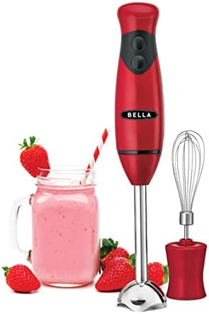 Bella Immersion Hand Blender With Whisk Attachment