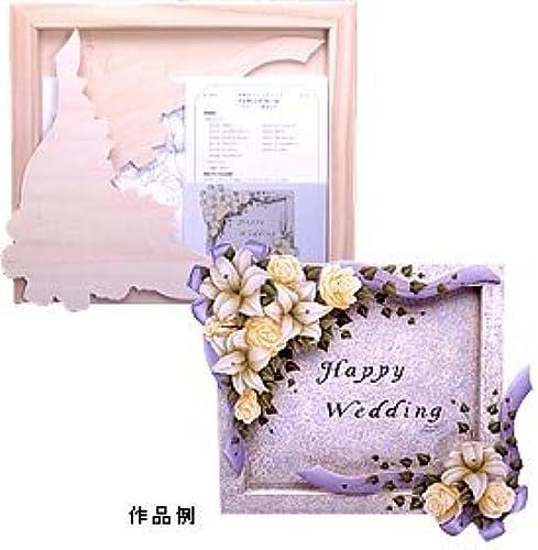 precios mas bajos Country Craft Tole for plain wood material Wedding frame B-764 B-764 B-764 (japan import)  suministro de productos de calidad