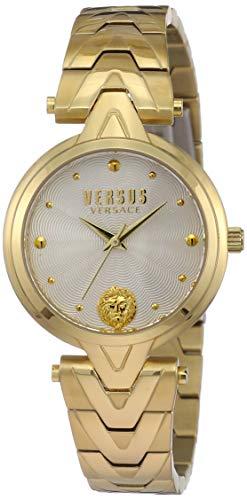 Versus Versace Orologio Analogico Classico Quarzo Donna con Cinturino in Acciaio Inox SCI250017