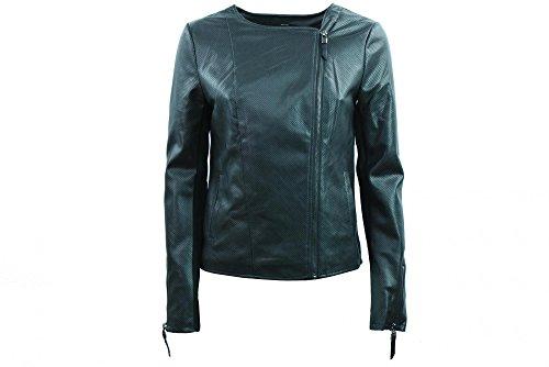 ONLY vrouwen faux-lederen jas 15140393 BLACK