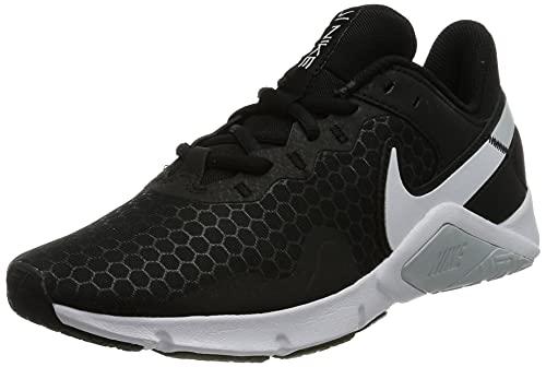 Nike Legend Essential 2, Zapatillas de Atletismo Mujer, Black White Pure Platinum, 36 EU