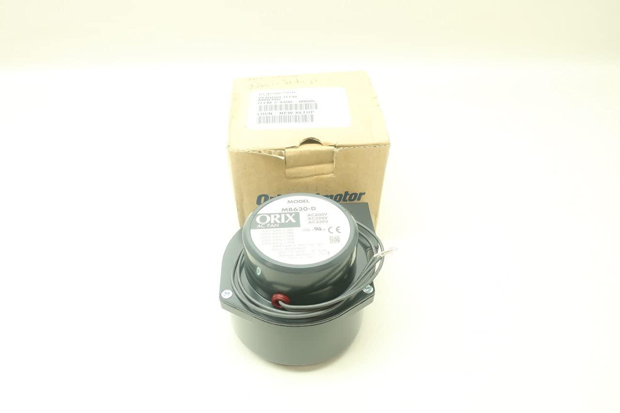ORIENTAL MOTOR MB630-D Centrifugal 230V-AC Fan Blower Max 78% OFF 220 Max 68% OFF